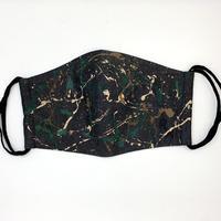 DENIM MASK- MASK-3127  black/camouflage   Lサイズ