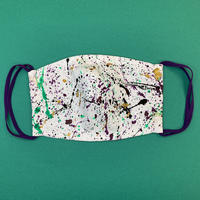 DENIM MASK- R-1648 white/SPECIAL COLOR vol.04   Mサイズ
