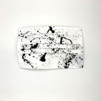 DENIM MASK  COVER  white/black 3409  Mサイズ