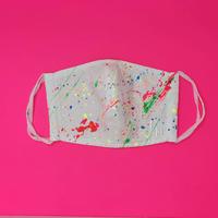 DENIM MASK- MASK-3640 white/neon6 colors  Mサイズ