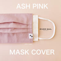 DENIM MASK  COVER  /ASH PINK