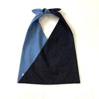 """bi-color/triangle bag"""