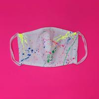 DENIM MASK- MASK-3645  white/neon6 colors  Mサイズ