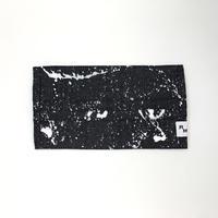 DENIM MASK  COVER  black/white 3558  Lサイズ