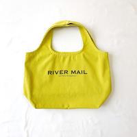 Eco Bag  M /saffraan yellow