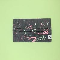 DENIM MASK  COVER  gray/melon×soft pink 3507  Mサイズ