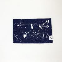 DENIM MASK  COVER  indigo/white 3457  Mサイズ