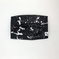 DENIM MASK  COVER  black/white 3398  Mサイズ