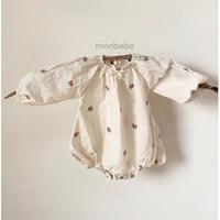 monbebe 刺繍ロンパース(327)