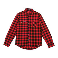 Arrow & Medicine Wheel flannel button long sleeve