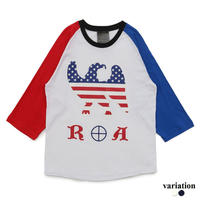 3 Colors American Eagle 3/4 Raglan sleeves