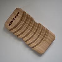【単品】サクラの間伐材でつくったミニミニ洗濯板