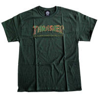 THRASHER  DAVIS TEE FOREST    スラッシャー Tシャツ