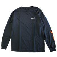 ONLY NY OUTDOOR GEAR MOCKNECK L/S T-SHIRT vintage black オンリーニューヨーク 長袖Tシャツ