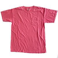 COMFORT COLORS 6.1oz S/S Pocket TEE  WATERMELON コンフォートカラーズ Tシャツ 後染め