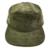 NEW YORK HAT / Corduroy 5Panel CampCap OLIVE ニューヨークハット 5パネル コーデュロイ キャップ