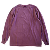 COMFORT COLORS 6.1oz L/S  TEE  BERRY コンフォートカラーズ 長袖Tシャツ 後染め