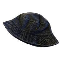 NEWHATTAN BUCKET HAT  Black Denim  ニューハッタン ブラックデニム バケット ハット NEW HATTAN