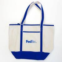 FedEx Cotton Boat Tote フェデックス トートバッグ