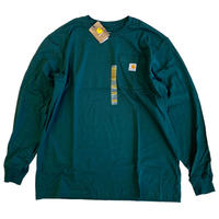 CARHARTT /  L/S WORKWEAR POCKET TEE   HT GREEN カーハート 長袖Tシャツ ロンT