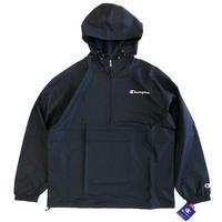 Champion  Packable Jacket  BLACK チャンピオン パッカブルジャケット アノラック  プルオーバー
