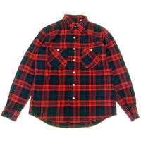 CAMCO(カムコ) HEAVY FLANNEL  L/S SHIRTS RED  ヘビーフランネルシャツ