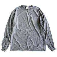 COMFORT WASH BY HANES / Ringspun Cotton Garment-Dyed TEE 長袖Tシャツ ヘインズ CONCREATE 後染め