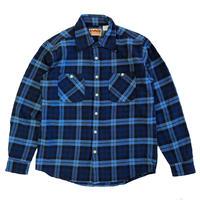 CAMCO(カムコ) HEAVY FLANNEL  L/S SHIRTS BLUE  ヘビーフランネルシャツ カムコ