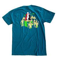 RIPNDIP /  NERM DE NUNEZ TEE S/S TEE HARBOR BLUE リップンディップ Tシャツ