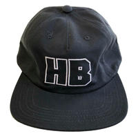 HOTEL BLUE /  HB CAP BLACK ホテルブルー キャップ