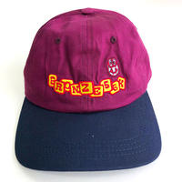 BRONZE 56K  BASEBALL HAT PLUM/NAVY  キャップ