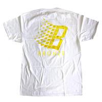 BRONZE 56K  B LOGO SPONGE TEE WHITE Tシャツ