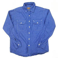 CAMCO(カムコ) CHAMBRAY WORK L/S Shirts BLUE シャンブレーシャツ