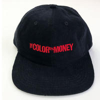 GX1000 THE COLOR OF MONEY  6PANEL CAP BLACK キャップ