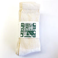 ORGANIC THREADS 3PACK REGULAR CREW SOCKS  靴下 オーガニックスレッズ オーガニックコットン ソックス Made In USA