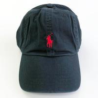 POLO Ralph Lauren / Classic CAP BLACK ポロ ラルフローレン キャップ