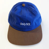 ONLY NY LODGE POLO HAT  royal オンリーニューヨーク キャップ