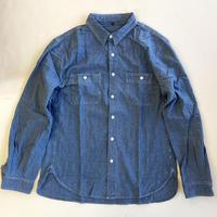 OG BLANK  L/S Chambray Work Shirt  オージーブランク シャンブレーシャツ