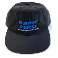 QUARTER SNACKS Data Plan Cap BLACK クォータースナックス キャップ