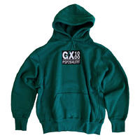 GX1000 PSP264LFFF Hood Sweat Forest Green embroidery スウェットパーカー