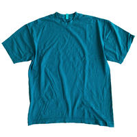 LOS ANGELES APPAREL 6.5oz Garment Dye CREW S/S TEE DARK TEAL ロサンゼルスアパレル Tシャツ