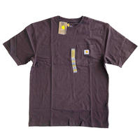 CARHARTT / WORKWEAR POCKET TEE  DARK BROWN  カーハート Tシャツ