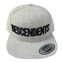 DESCENDENTS / LOGO SnapBack  Grey キャップ ディセンデンツ