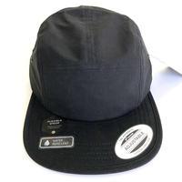 FLEXFIT 5panel CAP BLACK  フレックスフィット  5パネルキャップ