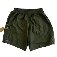 THOUSAND MILE IMPERIAL TRUNK SHORTS OLIVE   サウザンドマイル  ナイロンショーツ MADE IN USA
