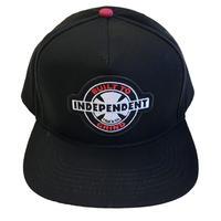 INDEPENDENT / 95 BTG RING CAP BLACK