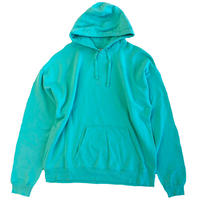 COMFORT WASH BY HANES / Ringspun Cotton Garment-Dyed Pullover hood sweatshirt ヘインズ パーカー MINT