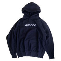 GX1000 OG LOGO Hood Sweat BLACK embroidery スウェットパーカー