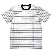 OG BLANK  Striped Pocket Tee WHITE ボーダーTシャツ