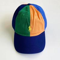 POLO Ralph Lauren / Color Blocked Cotton Chino Classics CAP  MULTI ポロ ラルフローレン キャップ マルチ